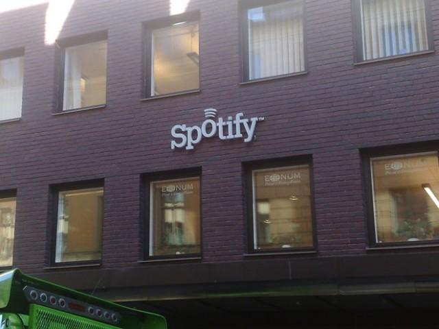 Spotify sur iPad, c'est en cours !
