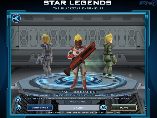 Star Legends et Pocket Legends débarquent sur Google Chrome