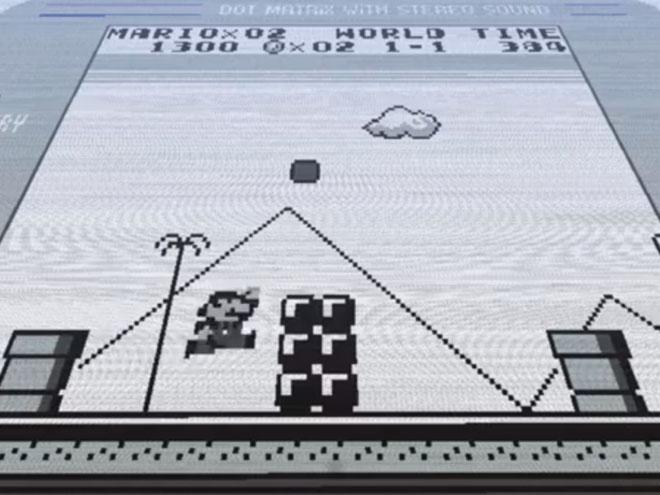Vidéo : le premier niveau de Super Mario Land réalisé avec Minecraft