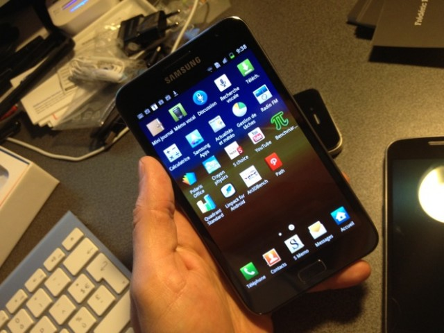 Test : Galaxy Note