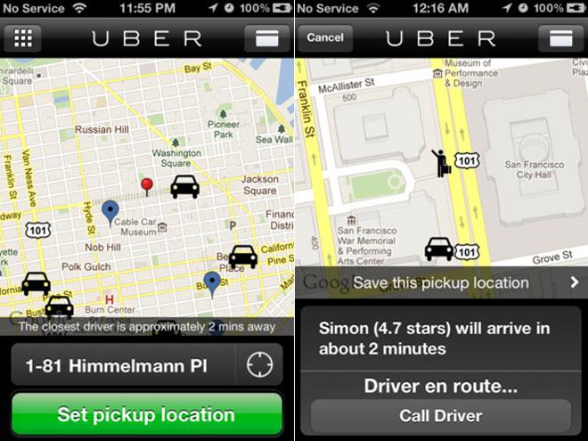 LeWeb'11 : Uber, le taxi à la demande, débarque sur Paris !