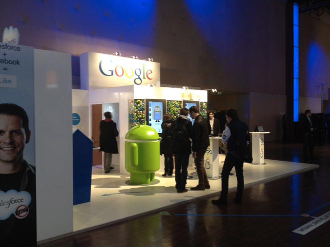 LeWeb'11 : prise en main du Galaxy Nexus