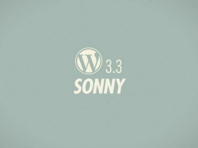 Wordpress 3.3 est de sortie !