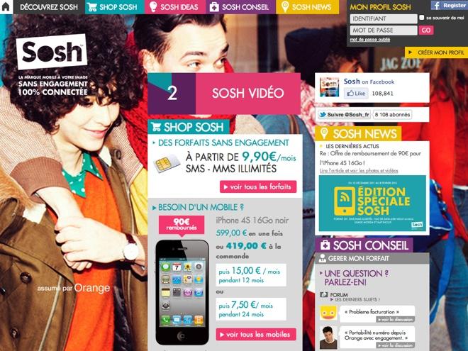 Sosh : vers un abonnement illimité à 18,99 € ?