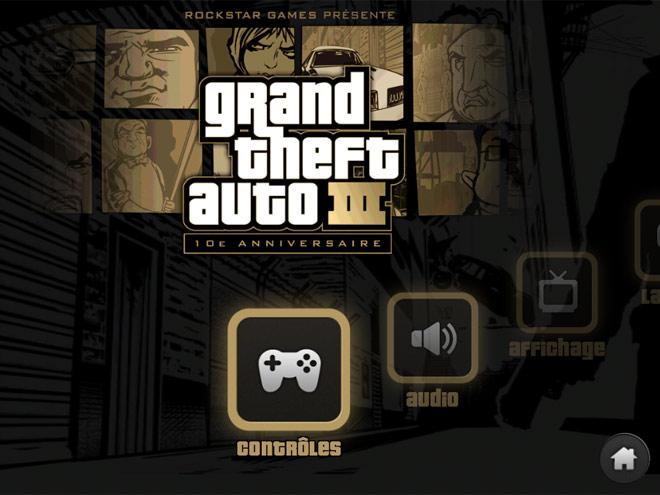 Activer les effets visuels avancés sur GTA 3 iOS