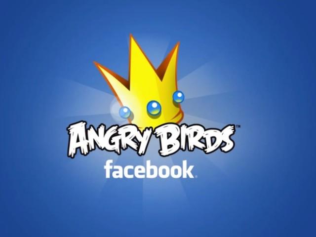 Angry Birds va bientôt arriver sur Facebook !