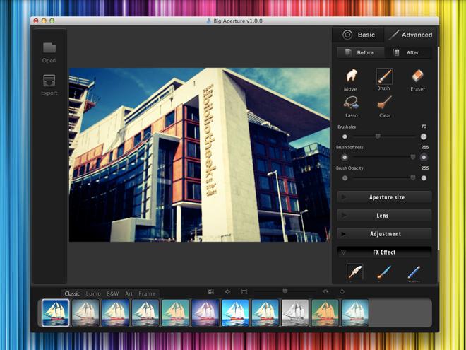 Big Aperture Mac OS