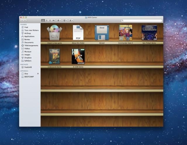 Boxer, un émulateur DOS pour Mac OS