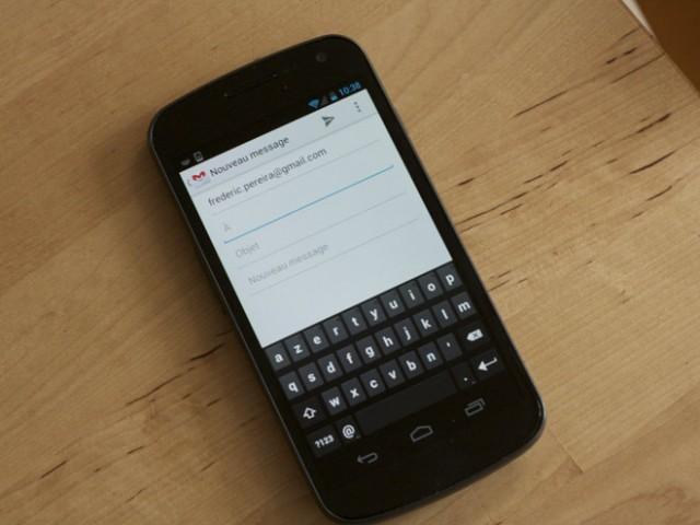 Installer le clavier de Ice Cream Sandwich sur son mobile sous Android