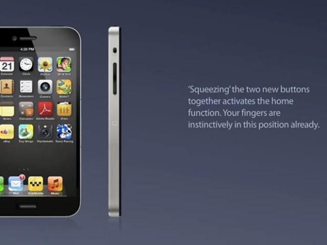 """Vidéo : un concept d'iPhone 5 sans bouton """"home"""""""