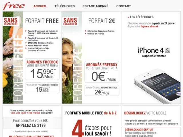 Free Mobile : 1.000.000 de clients pour fin janvier