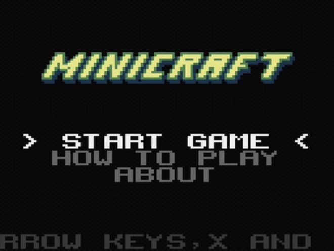 Minicraft est disponible sur le Market