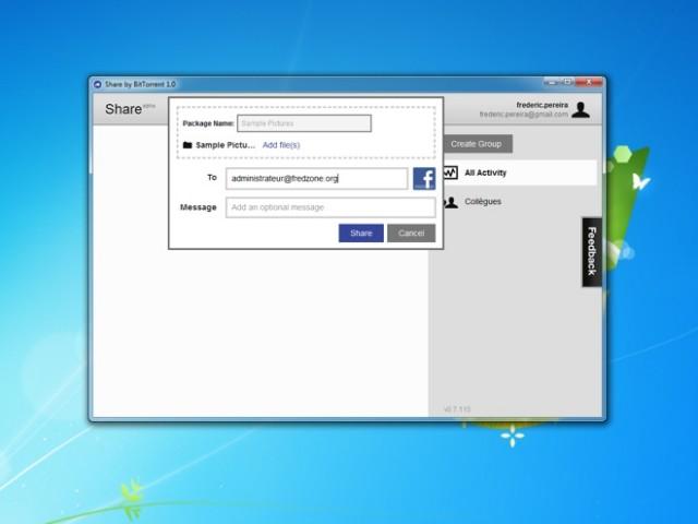 Partager un fichier sur Bittorrent