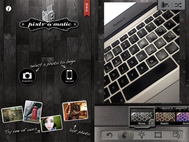 Pixlromatic, encore une application iPhone pour retoucher ses photos