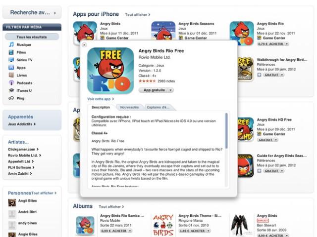 """La fonction """"Quick Look"""" débarque sur iTunes"""