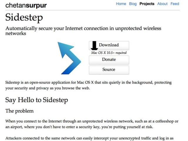 Proxyfiez facilement votre connexion avec Sidestep
