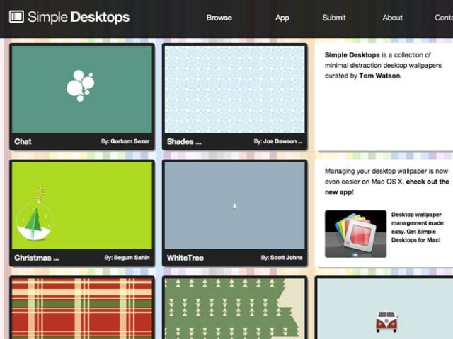 Simple Desktops, des fonds d'écran minimalistes pour votre ordinateur