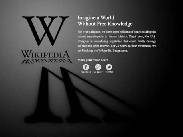 SOPA / PIPA, quand les géants du web se mobilisent contre la Hadopi américaine