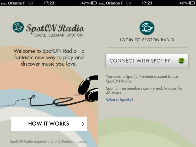 SpotON Radio, une application pour enrichir facilement son Sporify