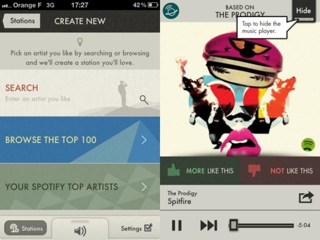 SpotON Radio, une application pour enrichir facilement son Sporify