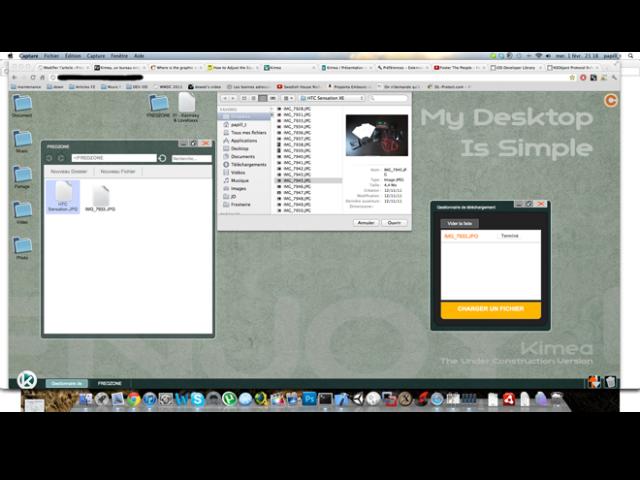 Kimea – Desktop