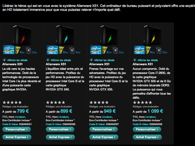 Alienware X51 : un monstre de puissance dans un boitier aussi grand qu'une Xbox 360