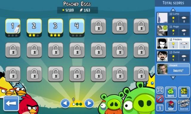 Angry Birds est disponible sur Facebook !