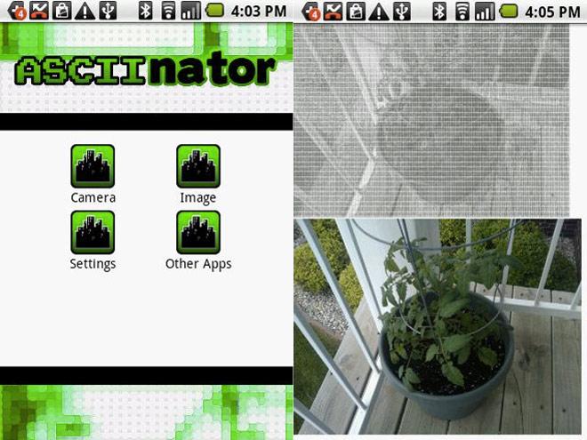 Faire de l'ASCII Art facilement avec son mobile Android
