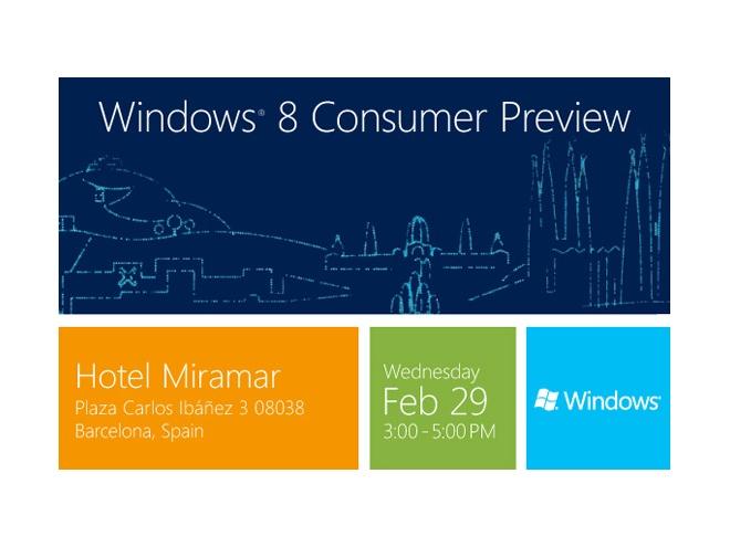 """Windows 8 : arrivée de la """"consumer preview"""" pour le 29 février ?"""