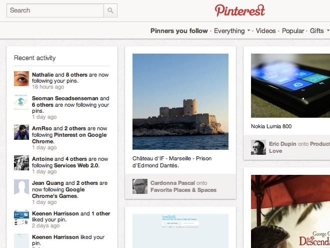 """Bloquer les """"pins"""" de Pinterest"""