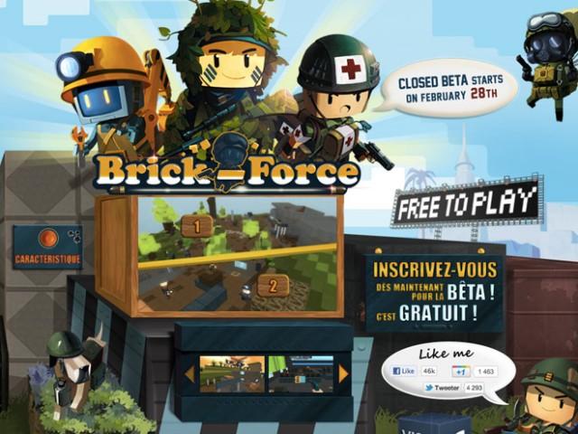 Brick Force, un FPS multi à la sauce Minecraft