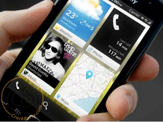 Les premières captures de BlackBerry OS 10 (BBX)