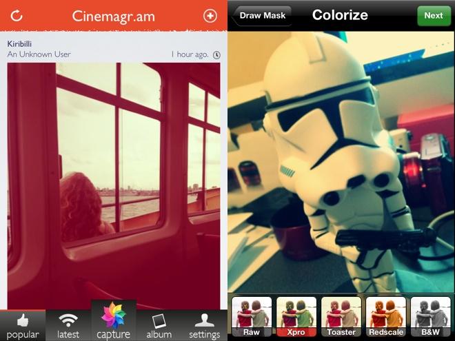 Cinemagram, pour créer des GIFS animés sur iPhone