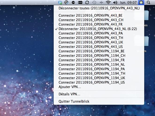 Configurer un VPN sur Mac OS en PPTP et en Open VPN