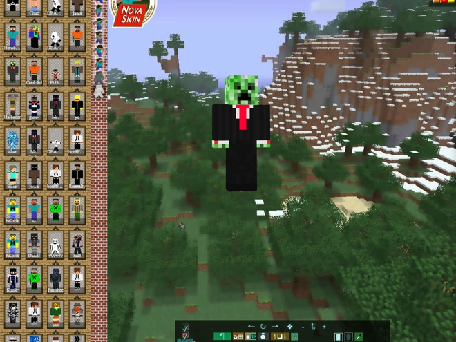 Créer son skin Minecraft avec SkinCache