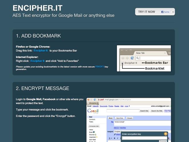 Crypter un mail sur Gmail, Yahoo, Hotmail et tous les autres