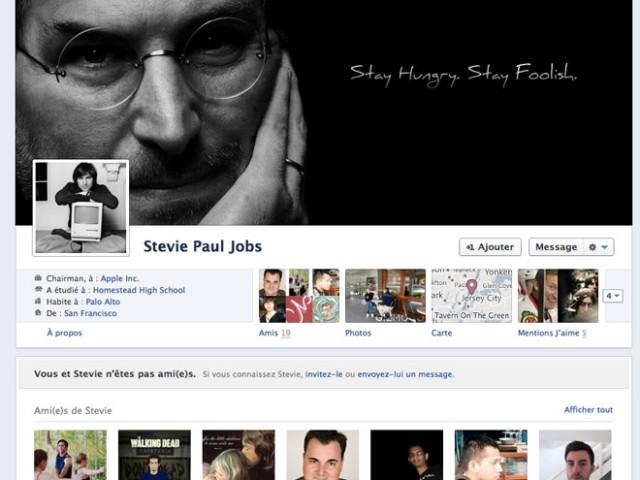 Facebook : une Timeline consacrée à Steve Jobs