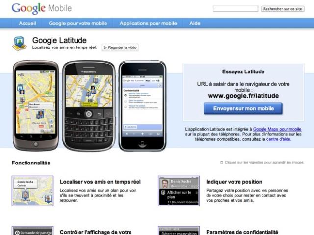 Google Latitude se rapproche de Foursquare avec le Leaderboard des check-ins