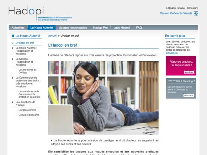 Hadopi : le respect des droits d'auteur n'est pas le même pour tout le monde