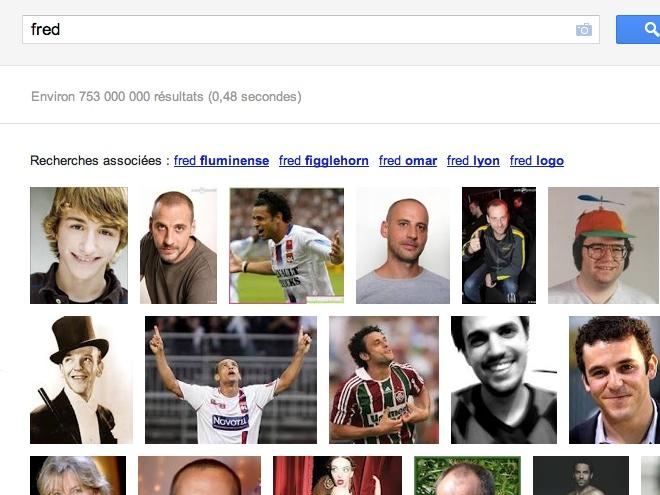 Google : une interface expérimentale pour la recherche d'images