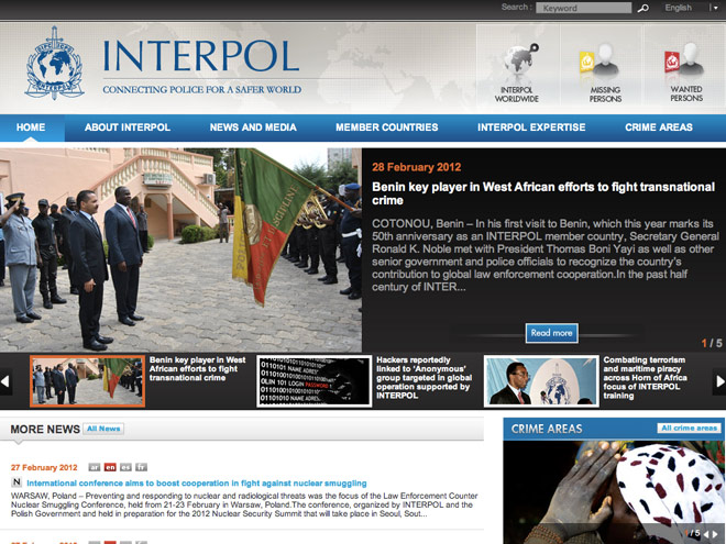 Interpol a arrêté 25 pirates soupçonnés d'appartenir au mouvement Anonymous