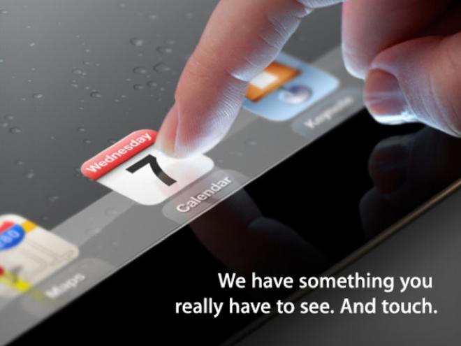 L'iPad 3 sera présenté le 7 mars !