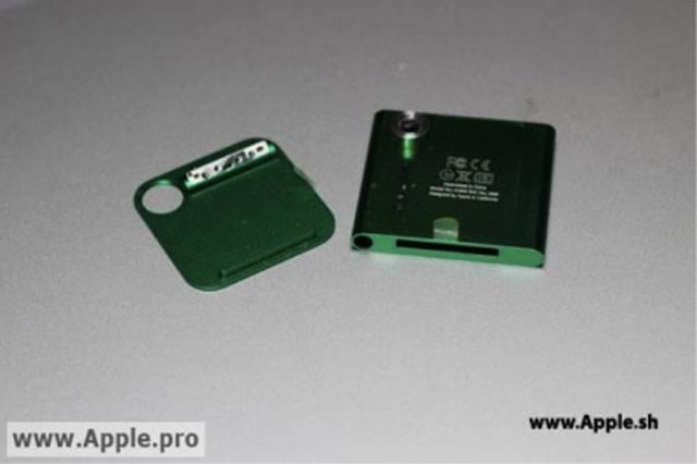 Une caméra pour le prochain iPod Nano ?