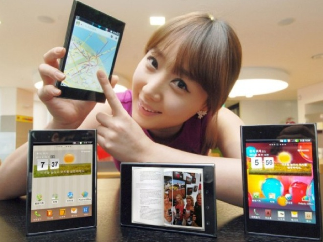 LG Optimus VU : le Galaxy Note de LG