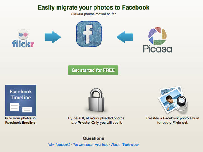 Migrer ses photos de Flickr / Picasa vers Facebook Timeline