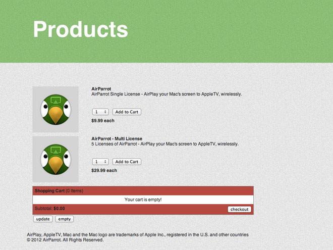 AirParrot : votre Mac en mode miroir sur une Apple TV... et avec le son !