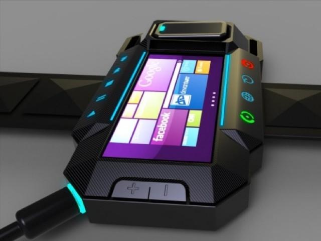 Concept : une montre sous Windows Phone 7