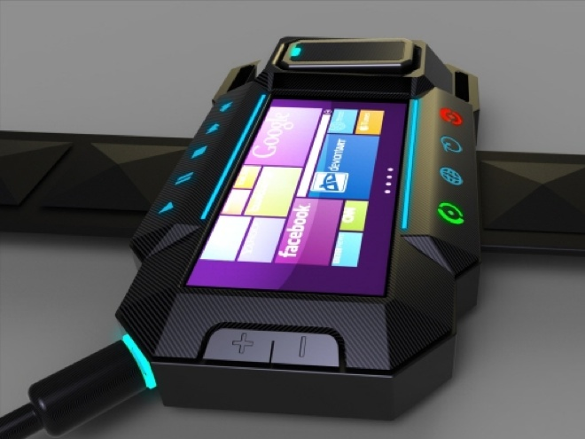 Concept : une montre sous Windows Phone 7
