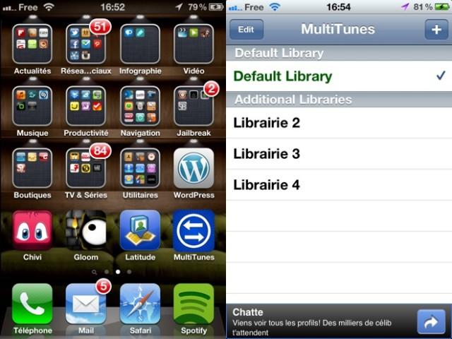 Synchroniser son iPhone, iPod Touch ou iPad avec plusieurs librairies iTunes