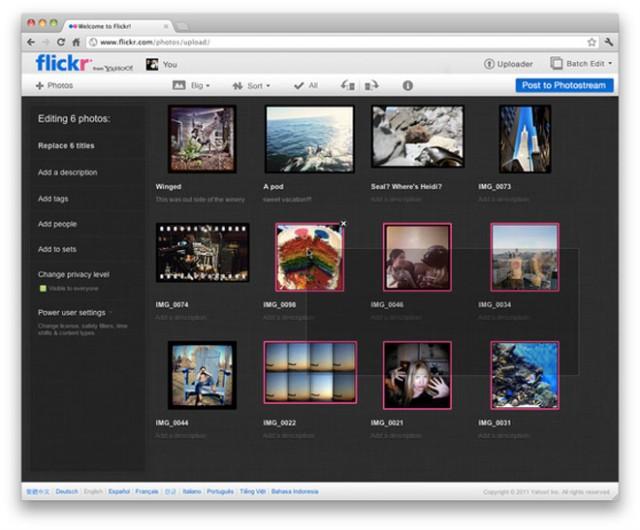 Flickr : une nouvelle version à la fin du mois